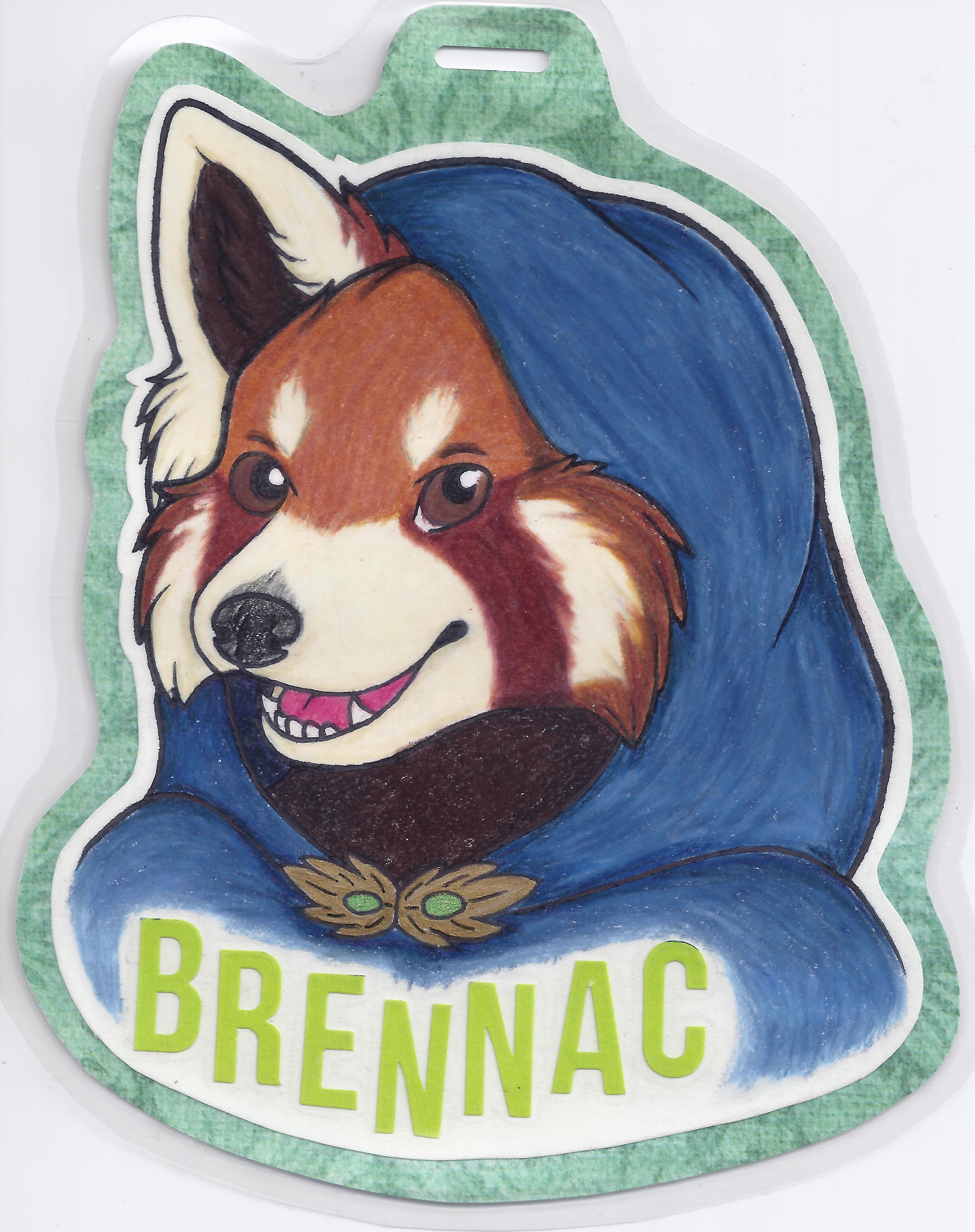 con badge