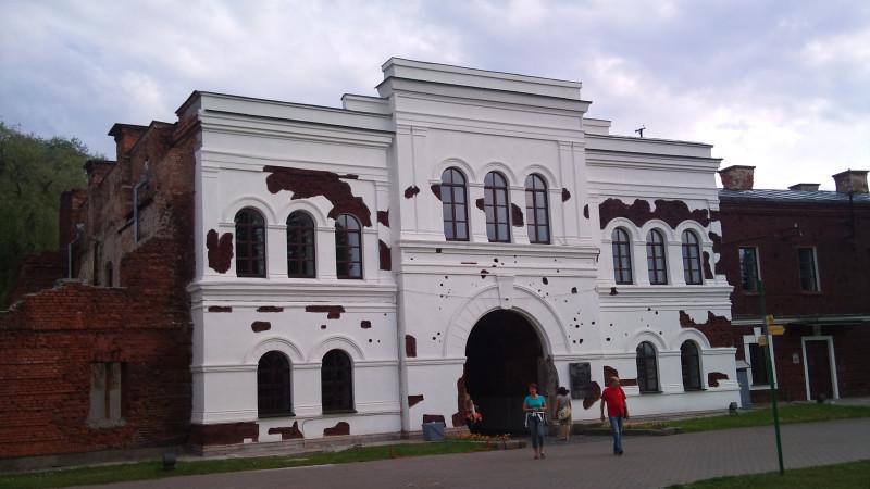 Холмские ворота со стороны Цитадели