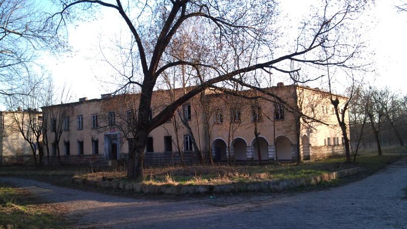 Здание бывшего штаба 125-го стрелкового полка