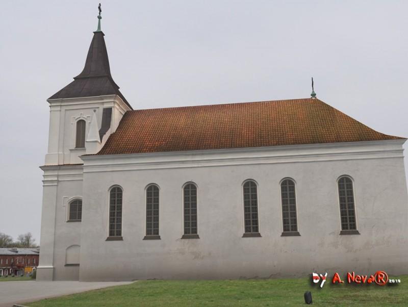 Графическая реконструкция костела Святой Троицы. Фото: Александр Невар