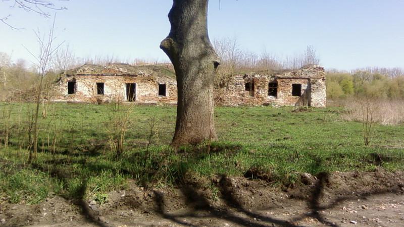В XVII веке тут был монастырь Бернардинского ордена. С 1842 в здании находится кадетский корпус, с 1861 – госпиталь. Сейчас остался только фундамент, подвалы и руины двух этажей, среди которых растут деревья.