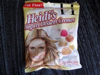Heidi Klum's candies?