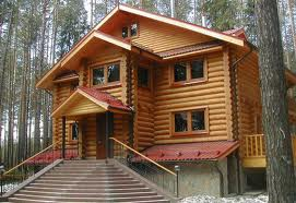 Richtlinien, um den Holzhaus Bauen