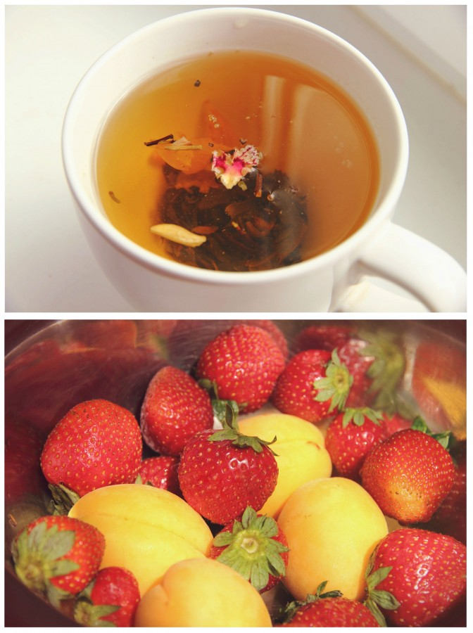 фрукты-чай