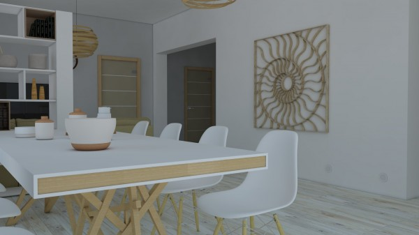 гостиная с декором-2