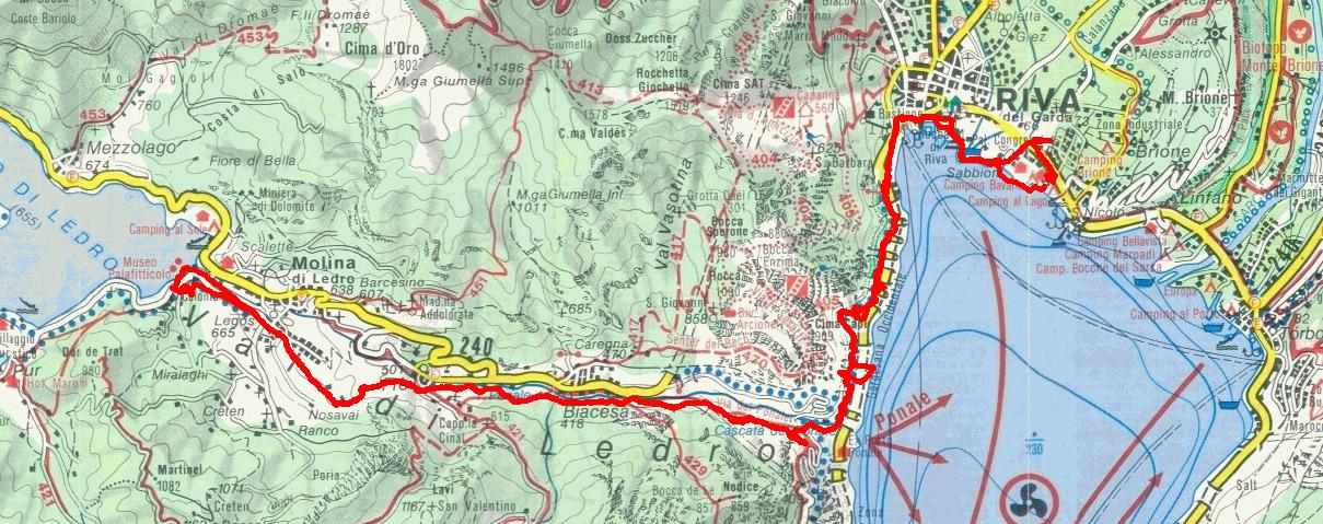 2018-10-24 lake Ledro