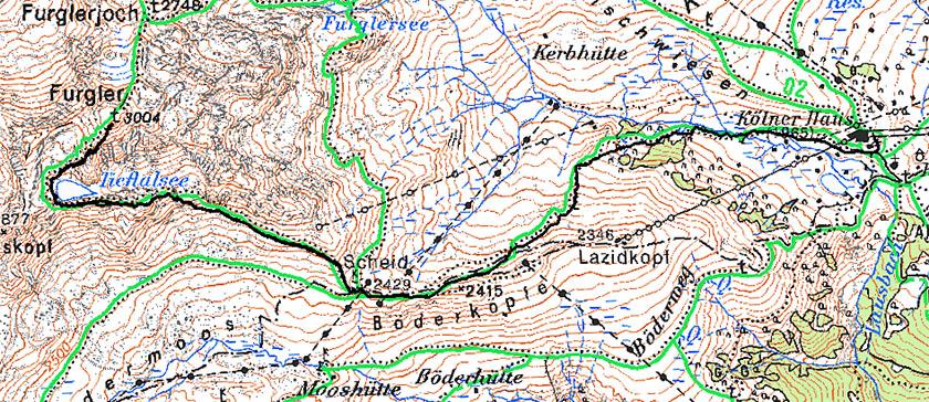 Карта 6 августа Юра