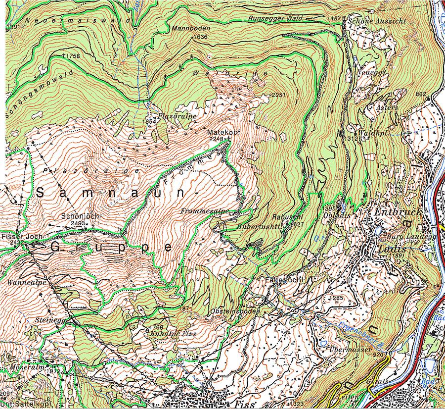 Карта 6 августа
