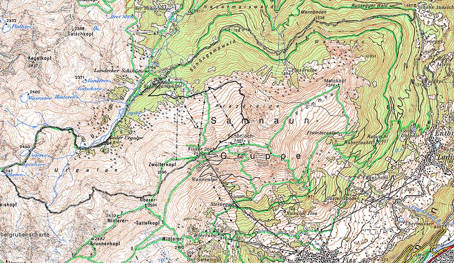 Карта 8 августа