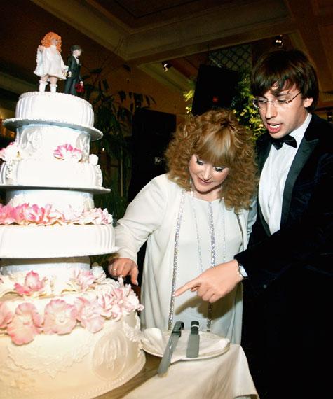 Свадьба Галкина и Пугачёвойа