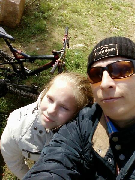 Охлобыстин с дочерью.