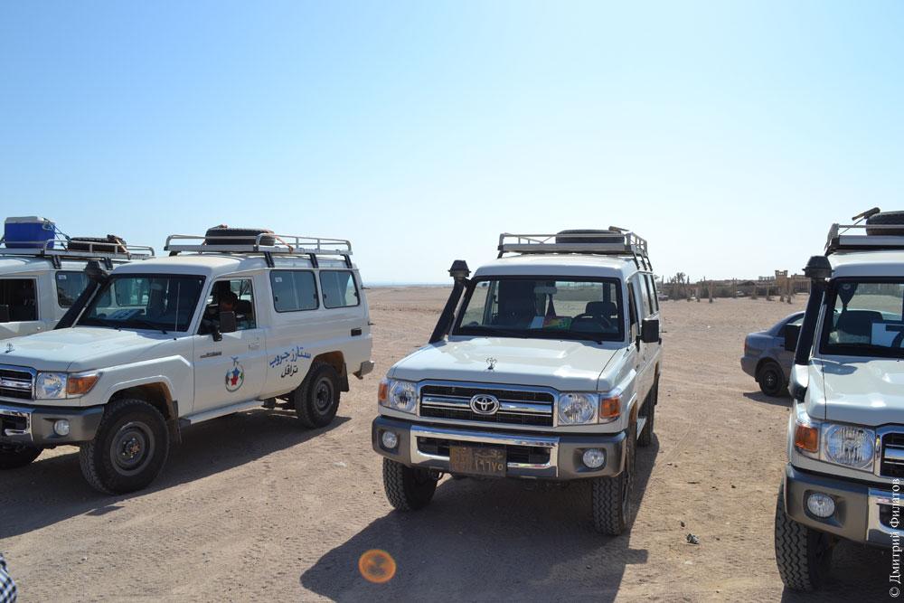 В Египте полицейские открыли огонь по группе туристов