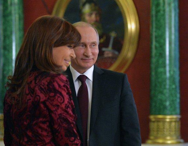 Путин и аргентинка