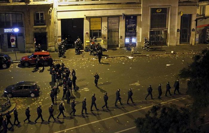 Теракт в Париже. Фото.