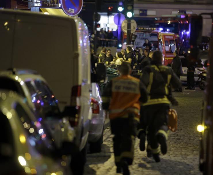 Теракт в Париже. Фото