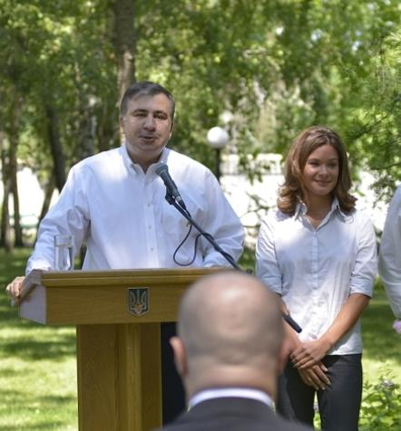 Гайдар и Саакашвили