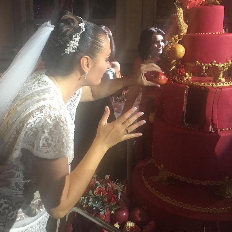 свадьба ваенги, фото торта