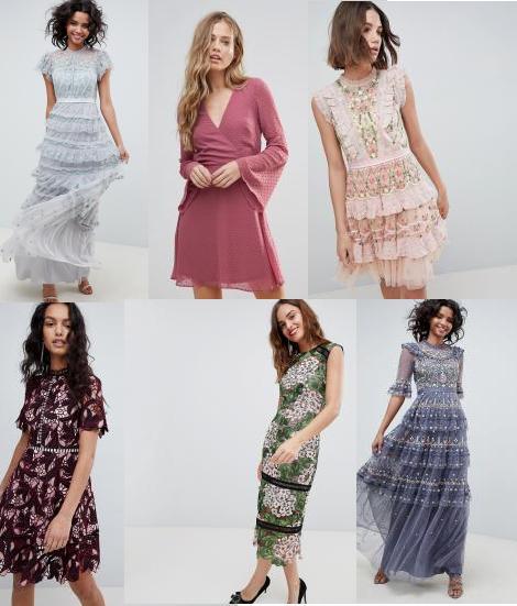 платья на Шопомио от магазина ASOS
