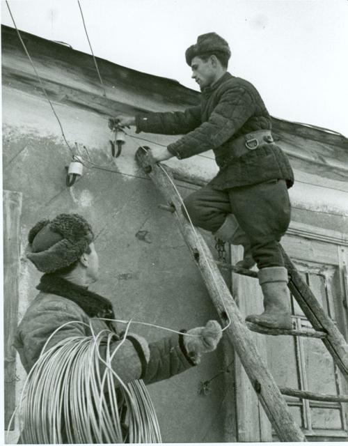 Электромонтеры1948
