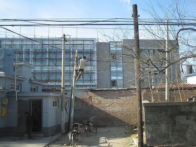 electric-pole-China