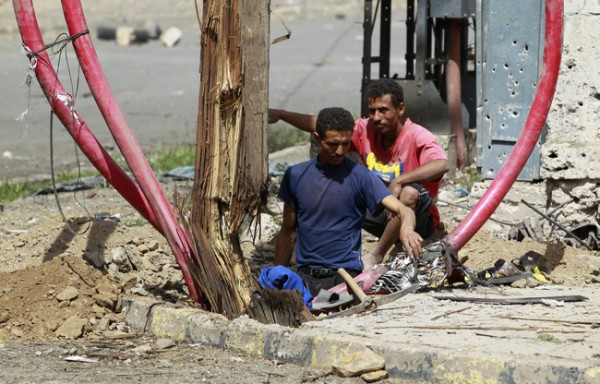 Электромонтеры Йемена