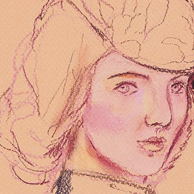 Irina-Korsakova-Sketch3-of-a-woman's-portrait