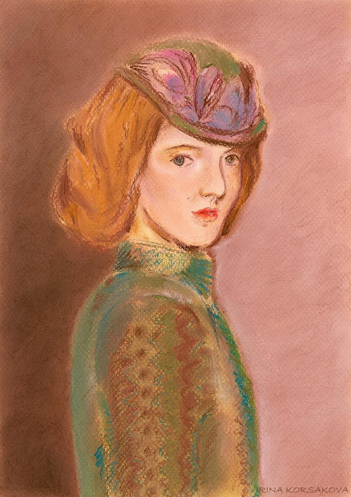 Elizabeth-Jones-portrait-by-Irina-Korsakova-2015