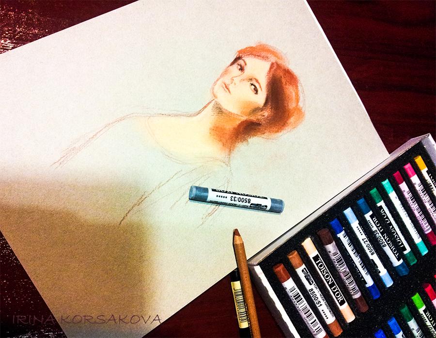 Irina-Korsakova.-Woman's-portrait.-07-2015