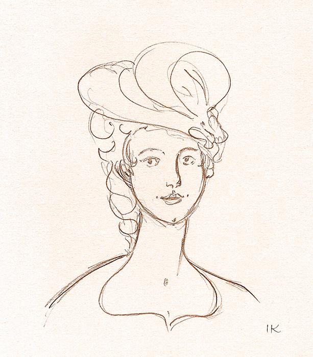 Irina-Korsakova-Woman's-sketch