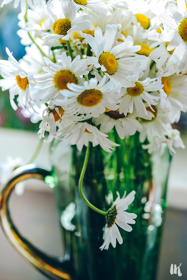 Summer chamomile bouquet by Irina Korsakova