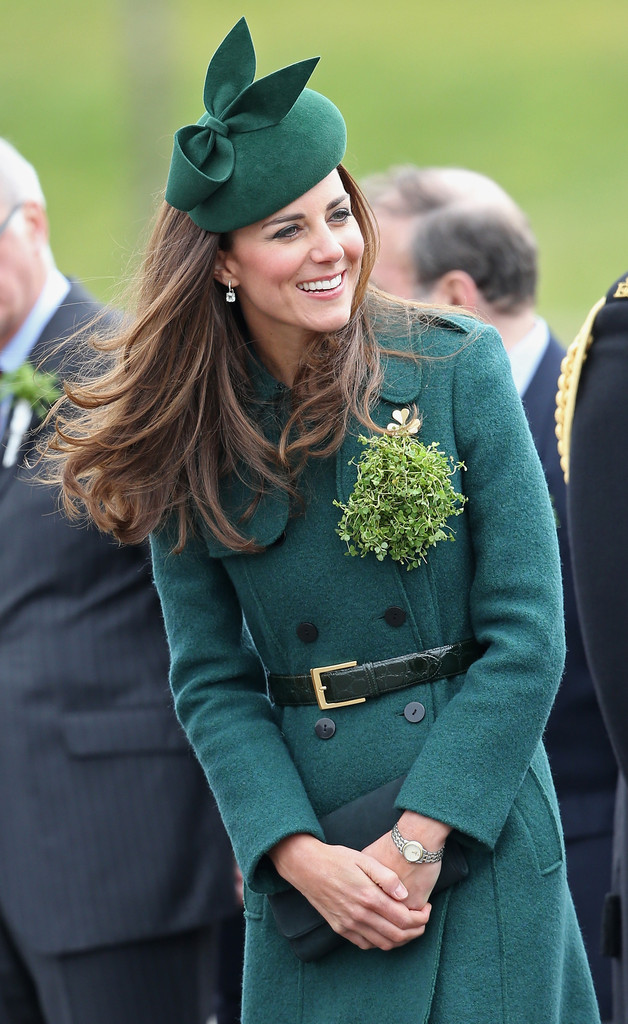 Duke+Duchess+Cambridge+Attend+St+Patrick+Day+yBBVoUJPV3Lx