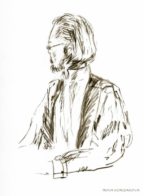 Граф - Ирина Корсакова скетч-Irina Korsakova