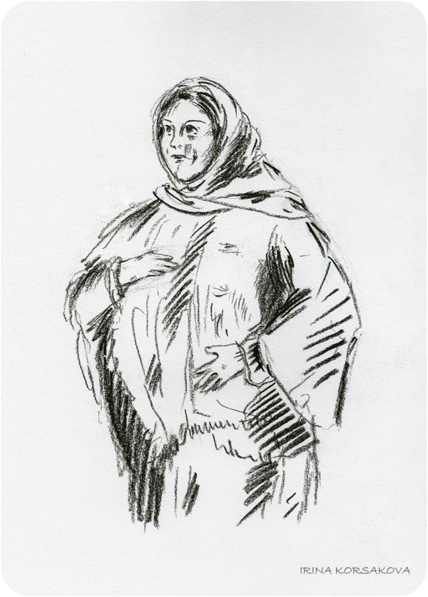 Glasha-Irina-Korsakova-sketch-Ирина-Корсакова