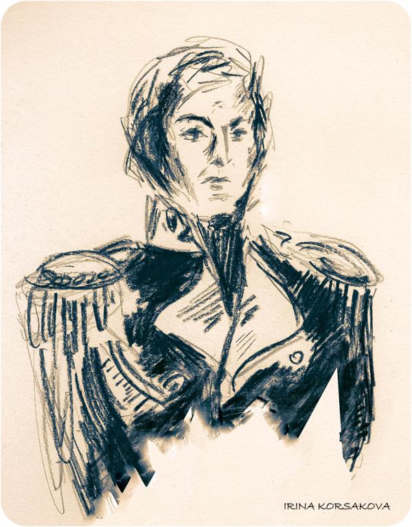 Captain-by-Irina-Korsakova-sketch