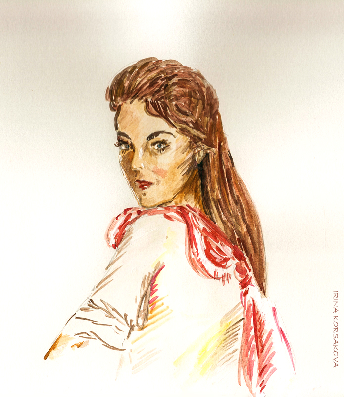 Irina-Korsakova-fashion-art-watercolor