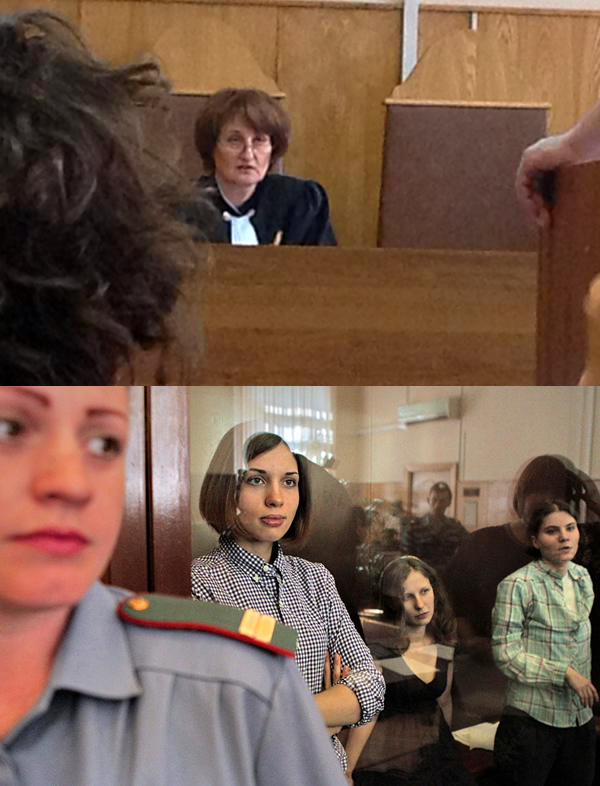 Judge Syrova free pussy riot pussy riot