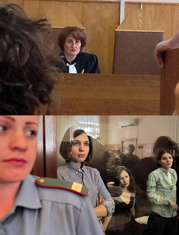 Judge Syrova free pussy riot pussy riot