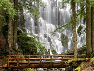 Ramona Falls at Mount Hood