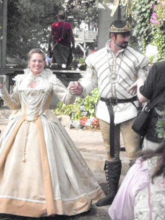 Ren Fest Wedding 2010