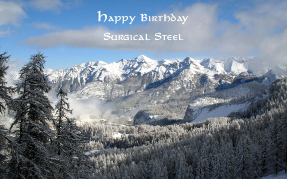 Surgical Steel Birthday