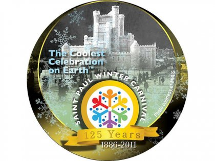 Winter Carnival Button