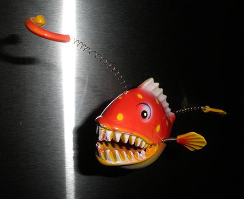 Angler Fish Magnet