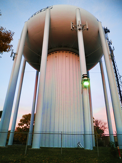 Roseville Water Tower