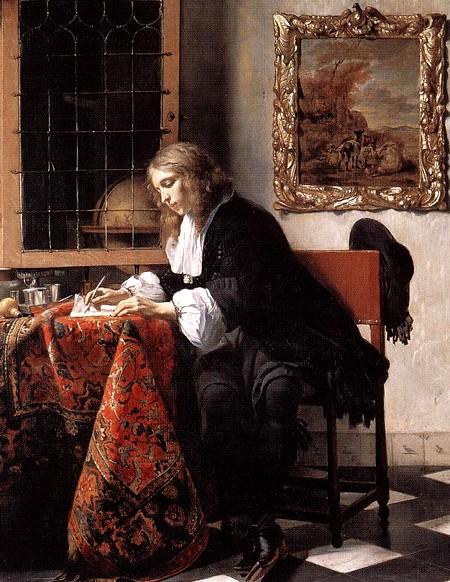 METSU_Gabriel_Man_Writing_A_Letter