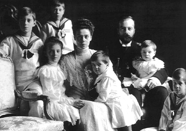 Xenia_Alexandrovna_family