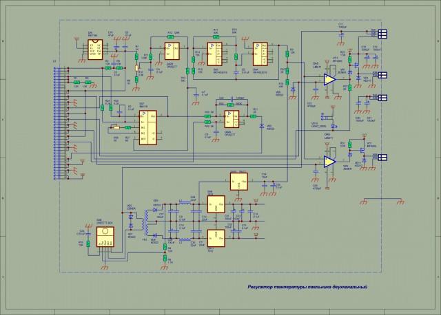 Схема аналоговой паяльной