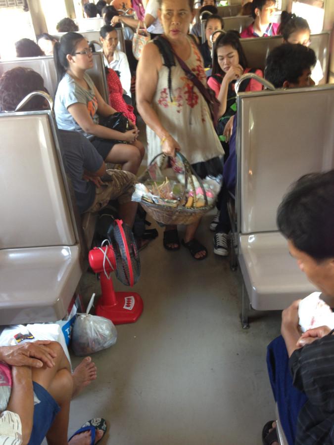 Еда и напитки в поезде