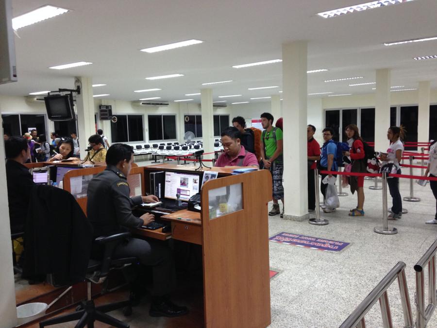 тайские пограничники