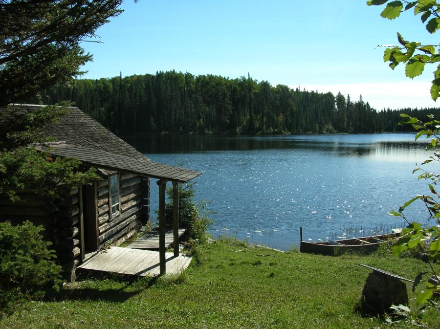 дом Серой Совы в Канаде