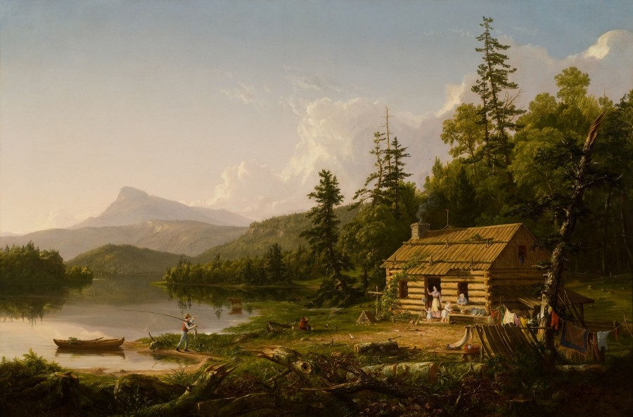 Thomas Cole, Home in the Woods, 1847
